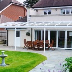 patio awning glass