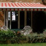 retractable garden awning