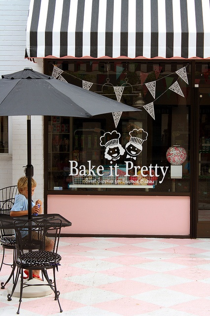 bake it pretty shop awning