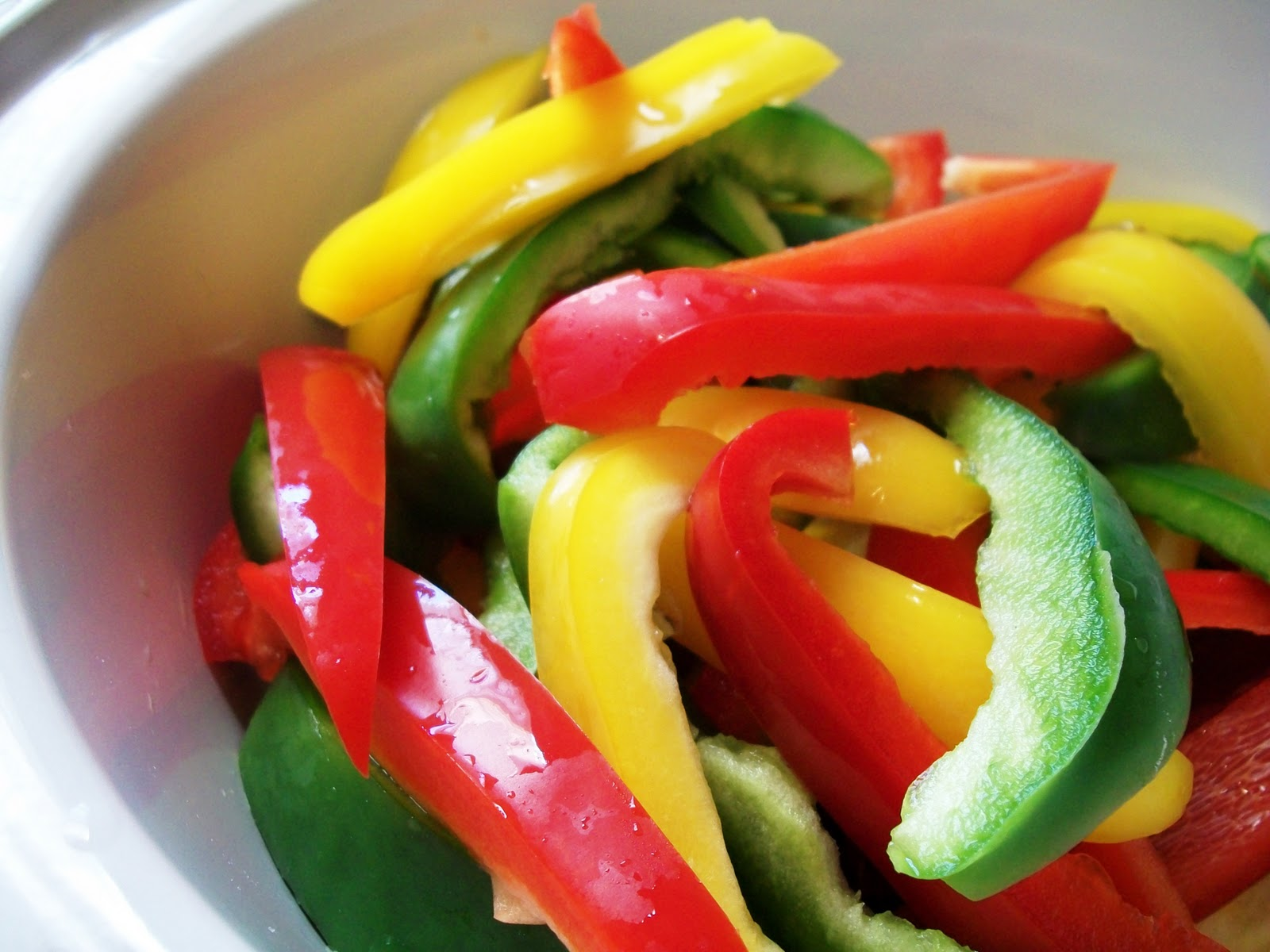 cut pepper