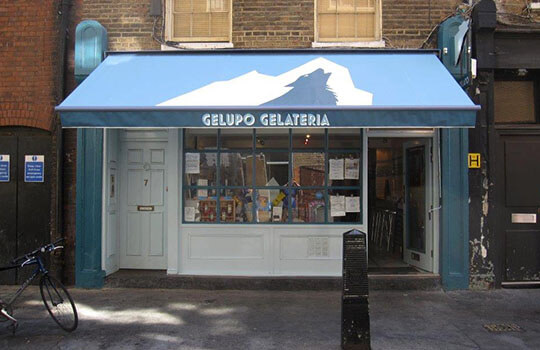 Gelupo Gelateria Awning