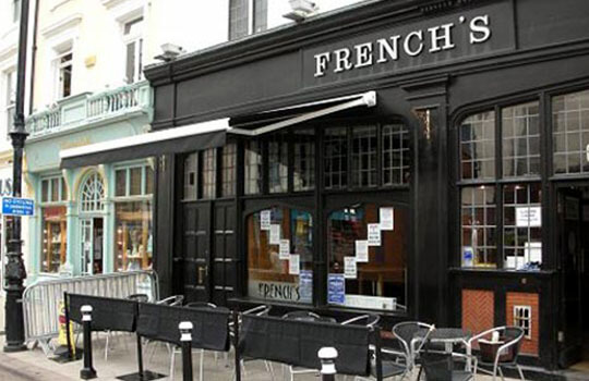 French's bar awning
