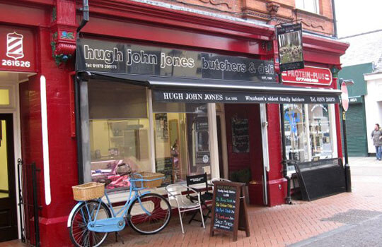 Butchers Awning In Black